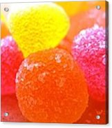 Mini Sugar Fruits Acrylic Print
