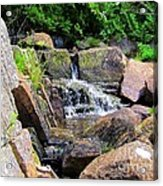 Mini Water Fall Acrylic Print