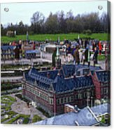 Miniature Friedenspalast Acrylic Print