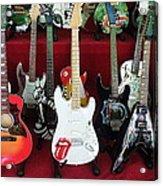Miniature Guitars Szentendre Hungary Acrylic Print