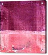 Minima - S02b Pink Acrylic Print