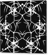 Minimal Life Vortex Acrylic Print