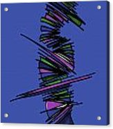 Minimalist 2 Blue Acrylic Print