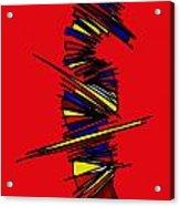 Minimalist 2 Red Acrylic Print