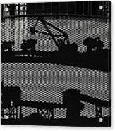 Mining Acrylic Print