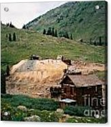 Mining In Anamas Forks Acrylic Print