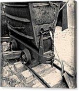 Mining Ore Cart Acrylic Print