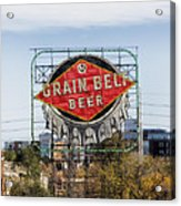 Minneapolis Brew Acrylic Print