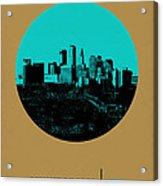Minneapolis Circle Poster 1 Acrylic Print