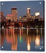 Minneapolis Acrylic Print