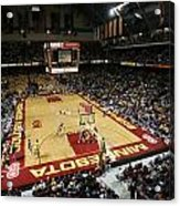 Minnesota Golden Gophers Williams Arena Acrylic Print by Replay Photos