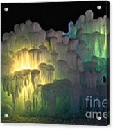 Minnesota Ice Castle 2013 Acrylic Print