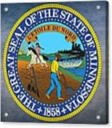 Minnesota State Seal Acrylic Print