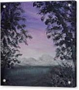 Minnesota Sunset Acrylic Print
