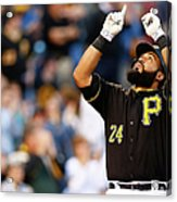 Minnesota Twins V Pittsburgh Pirates Acrylic Print