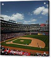 Minnesota Twins V Texas Rangers Acrylic Print