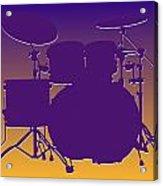 Minnesota Vikings Drum Set Acrylic Print