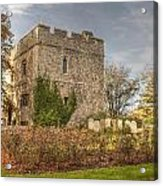 Minster Abbey Gatehouse Acrylic Print