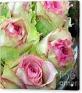 Mint Julep Bouquet Acrylic Print