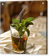 Mint Tea Acrylic Print
