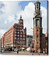Mint Tower In Amsterdam Acrylic Print
