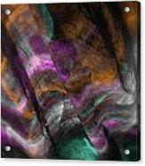 Mints And Cinnamon Acrylic Print