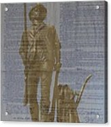 Minuteman Constitution Acrylic Print