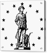 Minuteman Acrylic Print
