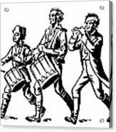 Minutemen: Spirit Of 1776 Acrylic Print