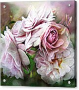 Miracle Of A Rose - Mauve Acrylic Print
