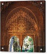 Mirador De Lindaraja La Alhambra Acrylic Print