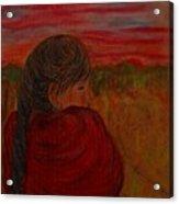 Miriam's Sunset Acrylic Print