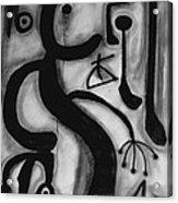 Miro Acrylic Print by Andrea Vazquez-Davidson