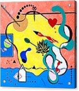 Miro Miro On The Wall Acrylic Print