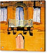 Mirror Image In Malta Acrylic Print