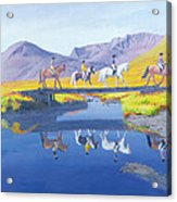 Mirror In The Cairngorms Acrylic Print