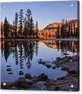 Mirror Lake Dawn Acrylic Print