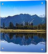 Mirror Lake Panorama Acrylic Print