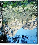 Mirror Lake Three New Zealand Acrylic Print