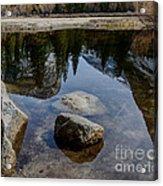 Mirror Lake Threesome 2 Yosemite Acrylic Print