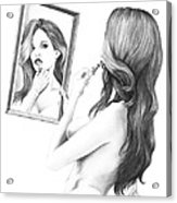 Mirror Mirror In My Hand Acrylic Print