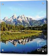 Mirrored Beauty Acrylic Print
