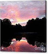 Mirrored In The Lake Acrylic Print
