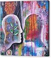 Mirrored Worlds Acrylic Print