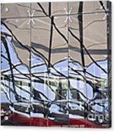 Mirroring On Vitreous Wall Acrylic Print