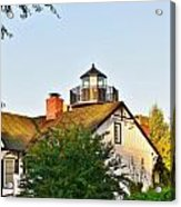 Mispillion Lighthouse - Lewes Delaware Acrylic Print
