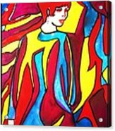Miss 1966 Detail 2 Acrylic Print
