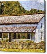Miss Becky's House Acrylic Print