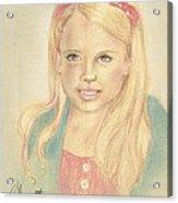 Miss Coots Acrylic Print