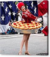 Miss Fourth Of July Acrylic Print